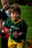 Flag Football; Jack & Max - October, 2015