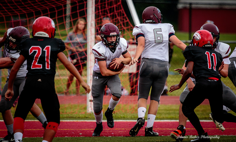 Dennis Baker Photography   Midget Football vs Susquehanna Twp