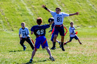 Flag Football; Brennan - October, 2016